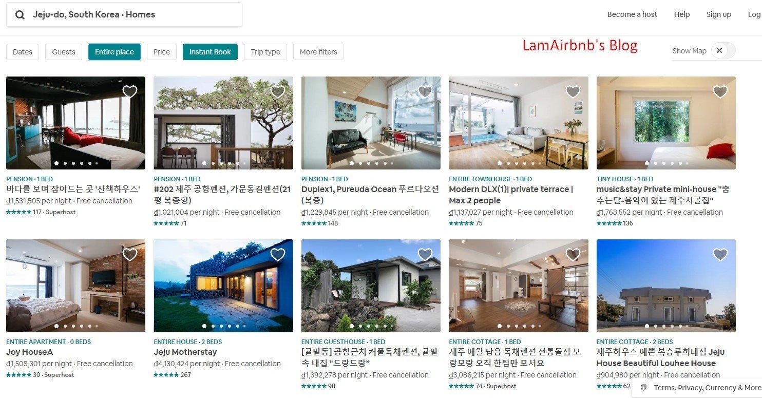 Qua Airbnb, bạn có thể tìm được những địa chỉ lưu trú hấp dẫn với mức giá rẻ hơn so với ở khách sạn, nhà nghỉ trên các kênh khác như Booking/Agoda