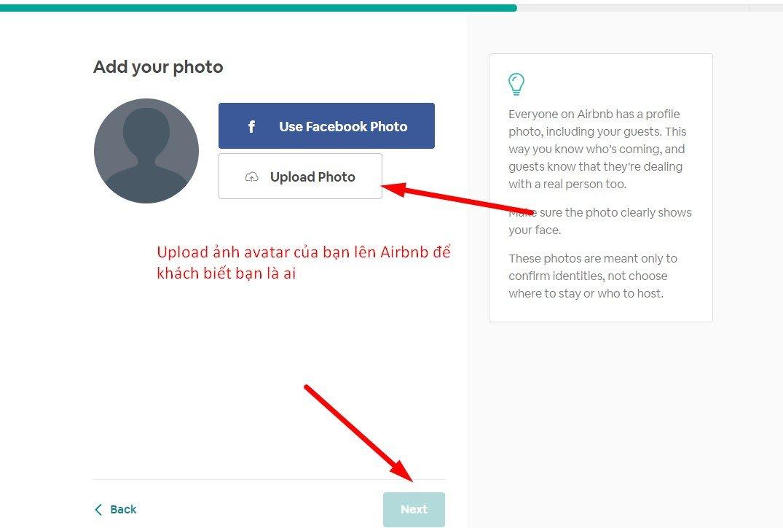 Tạo Profile Cá Nhân thu hút trên Airbnb