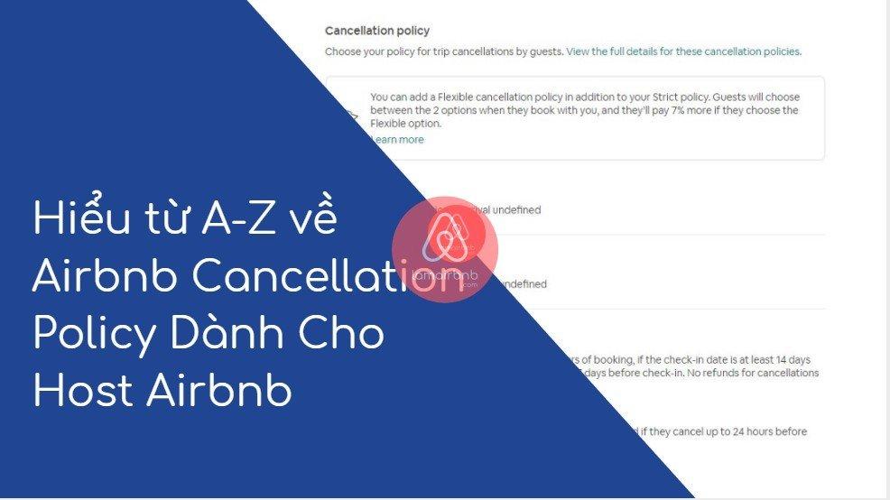 Hiểu từ A-Z về Airbnb Cancellation Policy Dành Cho Host Airbnb 20
