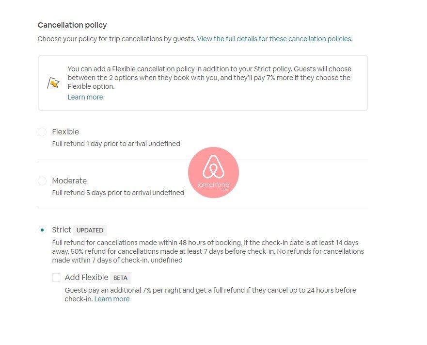 Hiểu từ A-Z về Airbnb Cancellation Policy Dành Cho Host Airbnb 3