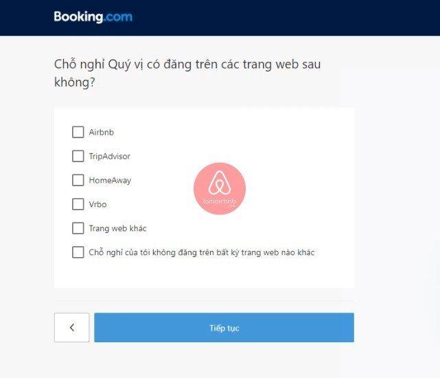 Chọn lựa các kênh đăng phòng, đăng kí bán phòng trên booking.com