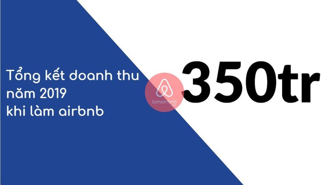 Doanh thu airbnb từ lamairbnb 2019
