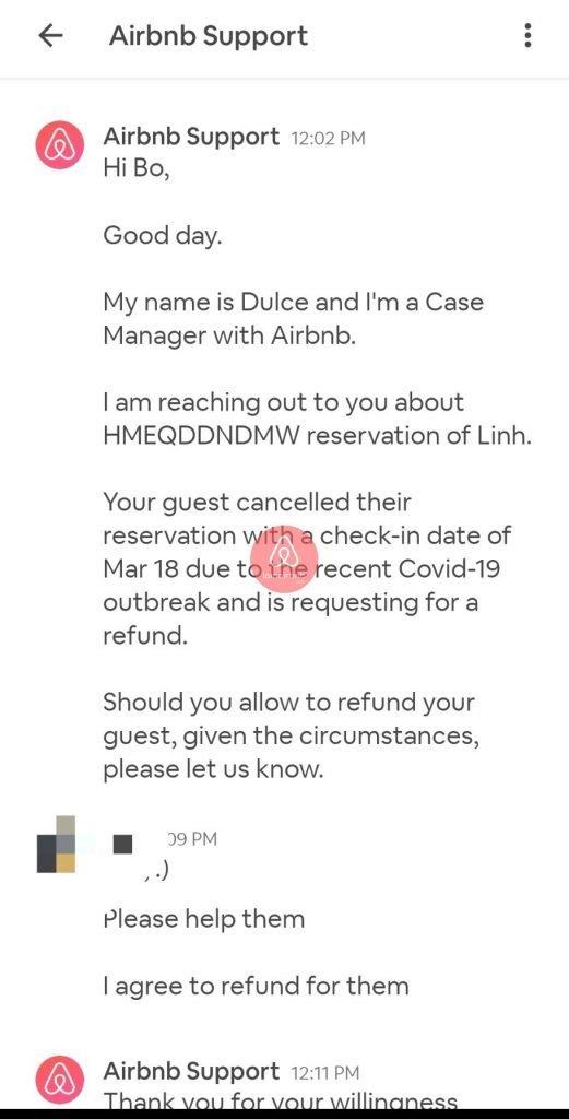 Airbnb sẽ liên hệ với bạn ( host ) qua mục Inbox dưới dạng tin nhắn
