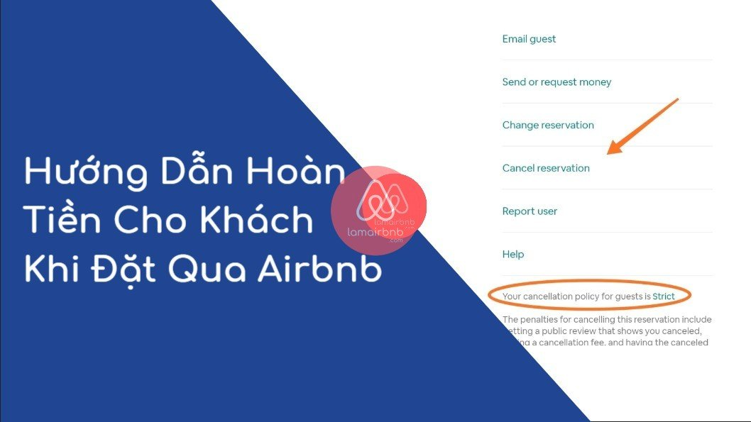Hướng Dẫn Hoàn Tiền Cho Khách Khi Đặt Qua Airbnb 1